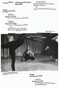 Yvonne Rainer  — Qualité Graphique Garantie