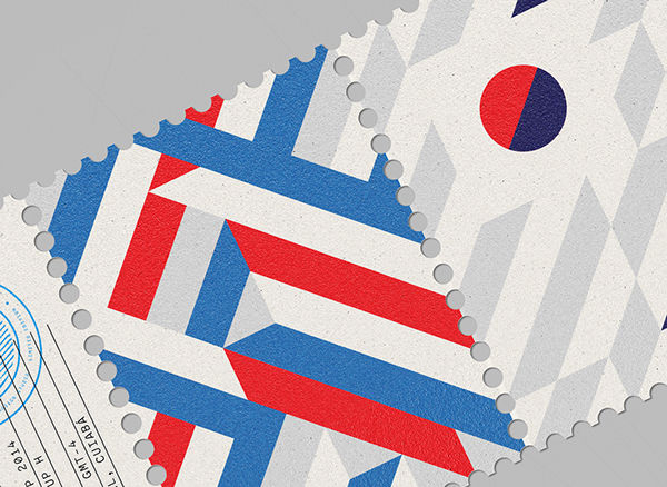 World Cup Stamps 2014 on Behance