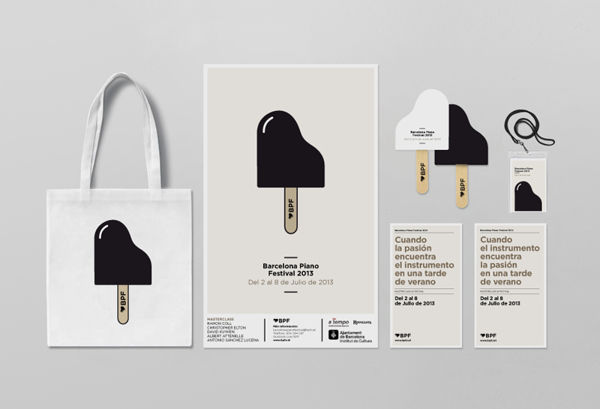 Barcelona Piano Festival on Behance