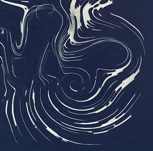 Curve descent pattern on Behance