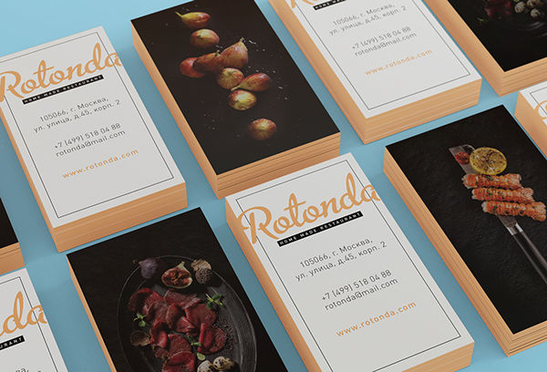 Rotonda restaurant on Behance