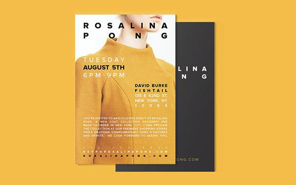 Rosalina Pong on Behance