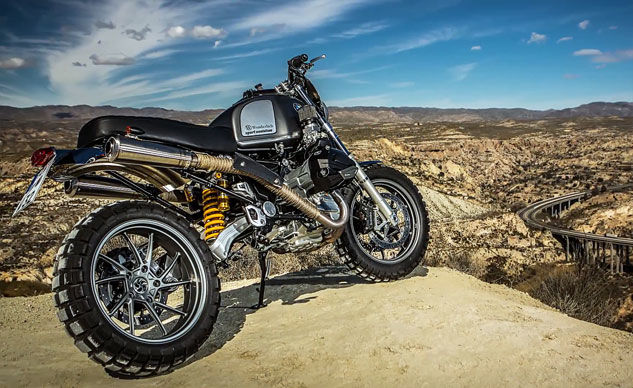 Weekend Awesome - Wunderlich Scrambler Based on BMW R1200GS