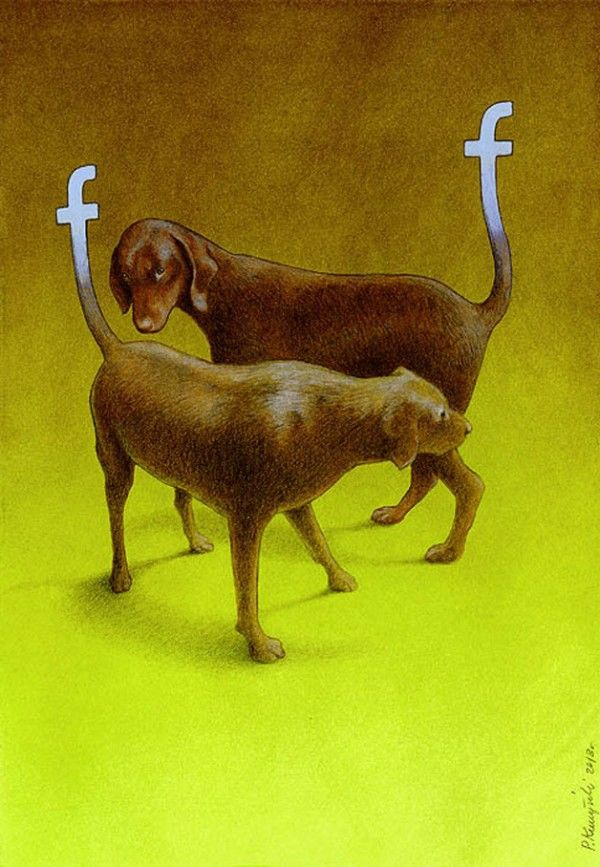 This Satirical Facebook Art Is Pure Genius