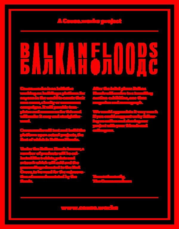 Balkan Floods on Behance