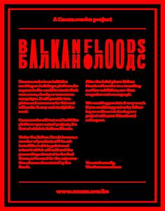 Balkan Floods on Behance