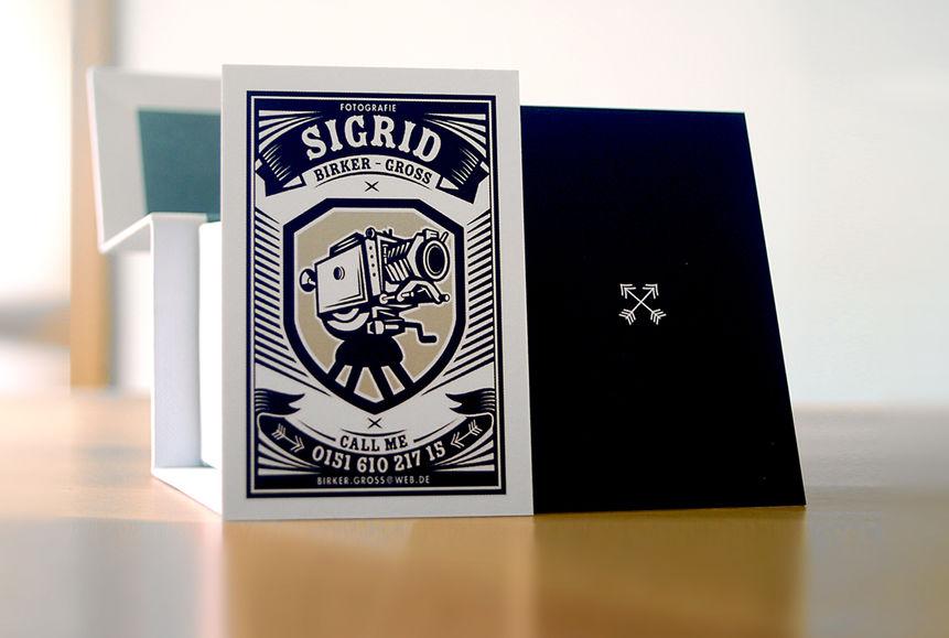 High Five |Design Studio — Visitenkarte