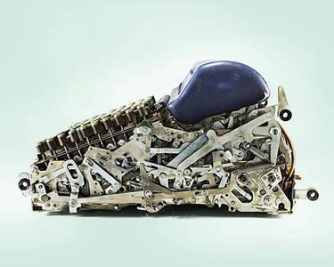L'étonnante complexité de calculatrices mécaniques prise en photos - Manufacture créative Aether Concept