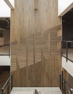 NIKE Wood Feature Wall | FIELDWORK