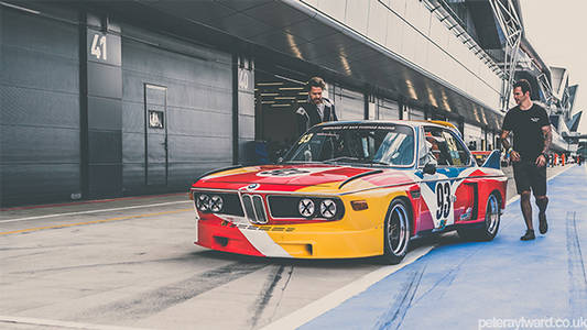 BMW 3.0 CSL Art Car on Behance