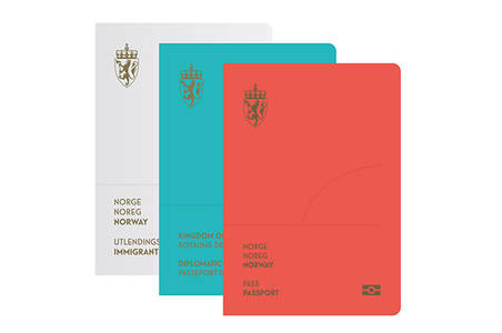 It's Nice That : Lovely new passport design among Norwegian studio Neue's top portfolio