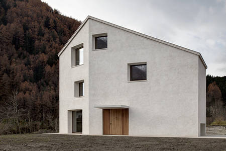 Haus F, Mühlen in Taufers on Behance