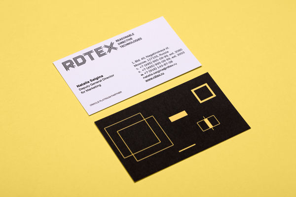 RDTEX (Reasonable Directive Technologies) on Behance