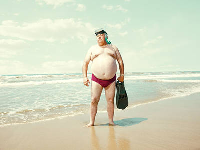 Man of the Beach on Behance