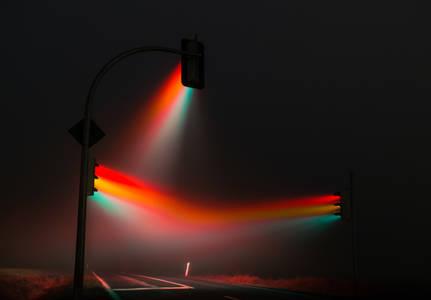 Traffic lights on Behance