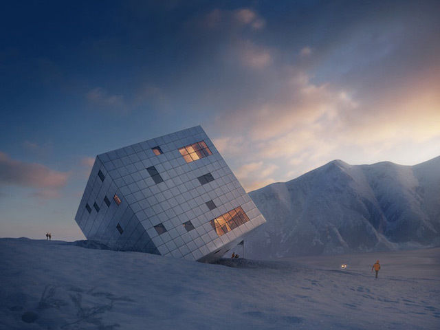 Architecture / 0-Stunning Cube Hut Project by lAtelier 8000