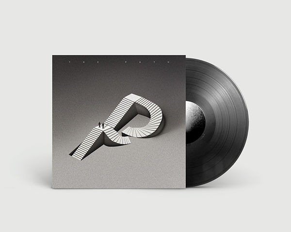 The Path LP - Vinyl Cover on Behance
