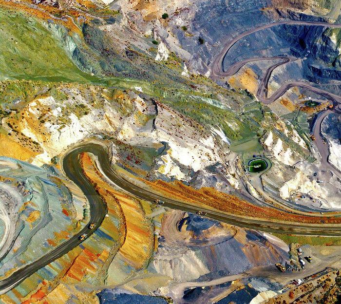 Strip Mine Paintings
