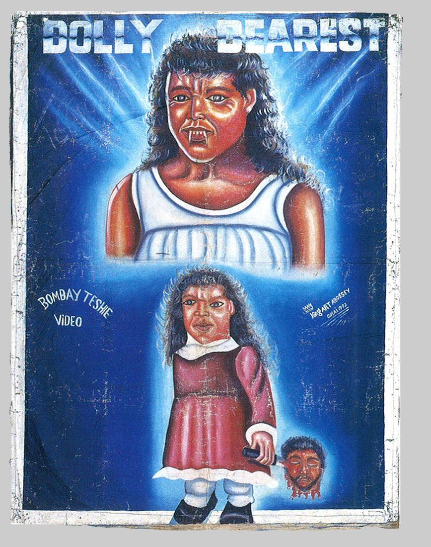 ephemera assemblyman: Film Poster Paintings from Ghana