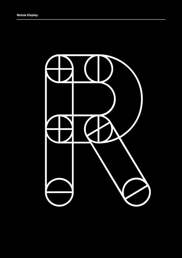 Rotula Display on Typography Served