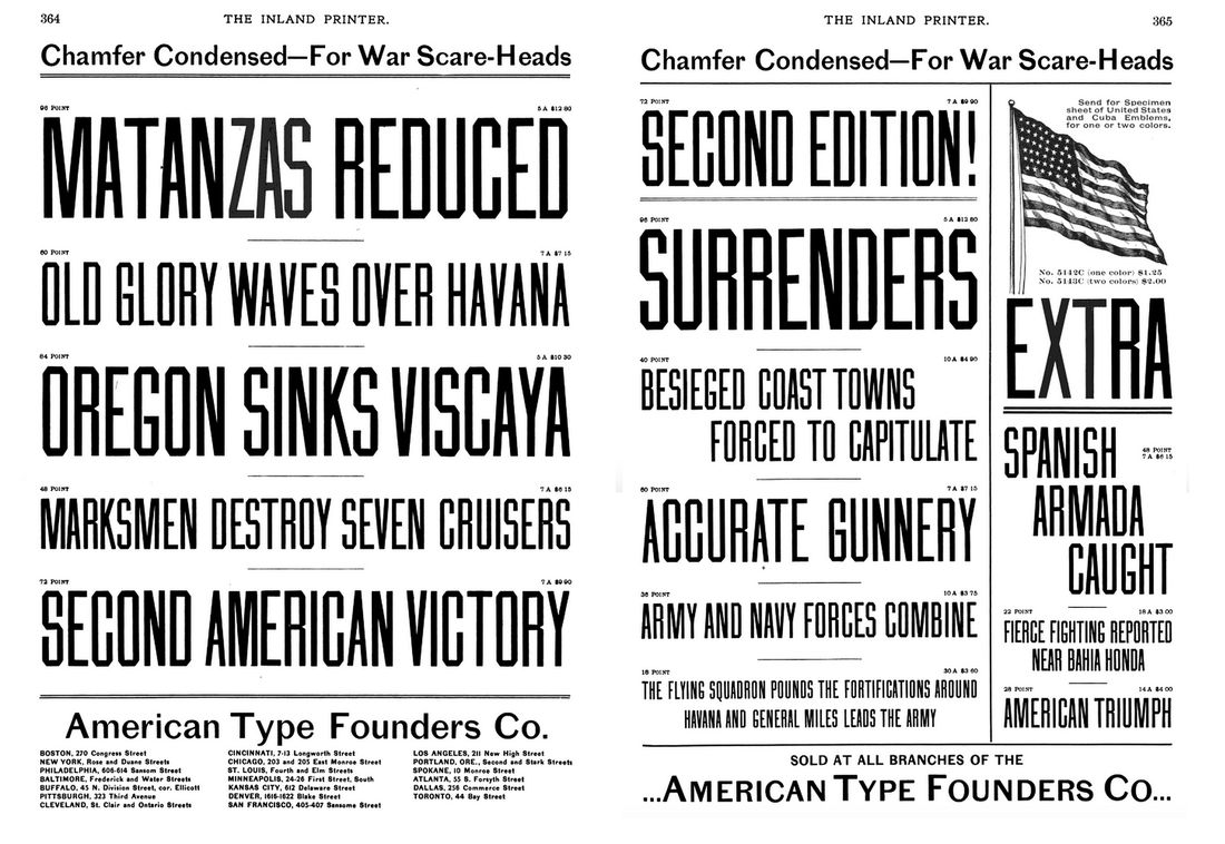 All sizes | Chamfer Condensed–For War-Scare Heads | Flickr - Photo Sharing!