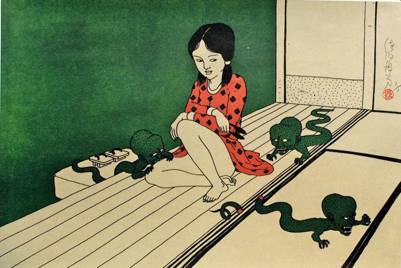 Toshio Saeki - Japan's master of Erotic Illustration | KALTBLUT Magazine
