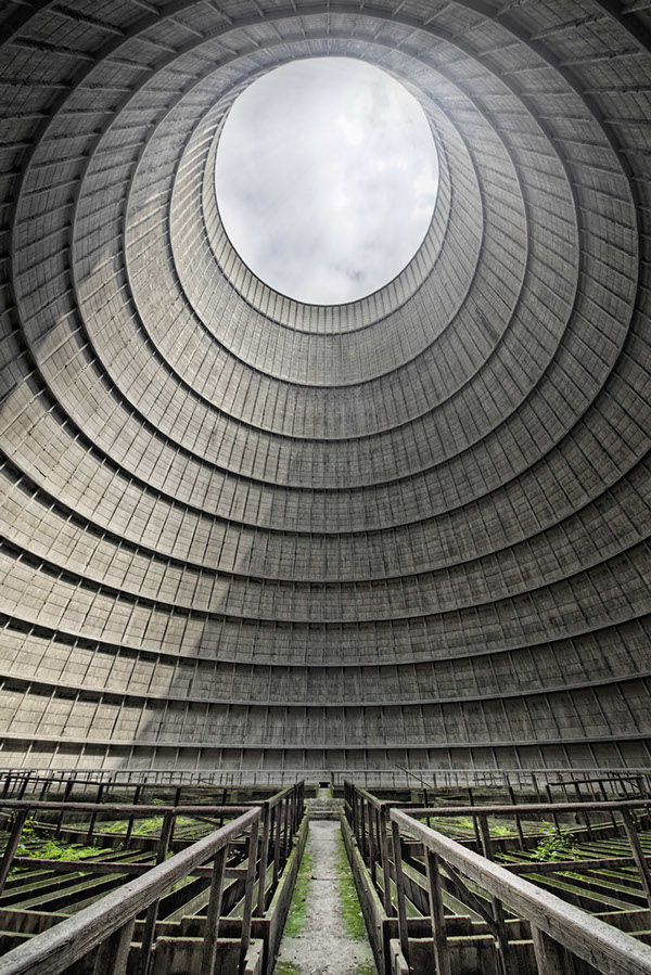 cooling towers on Behance