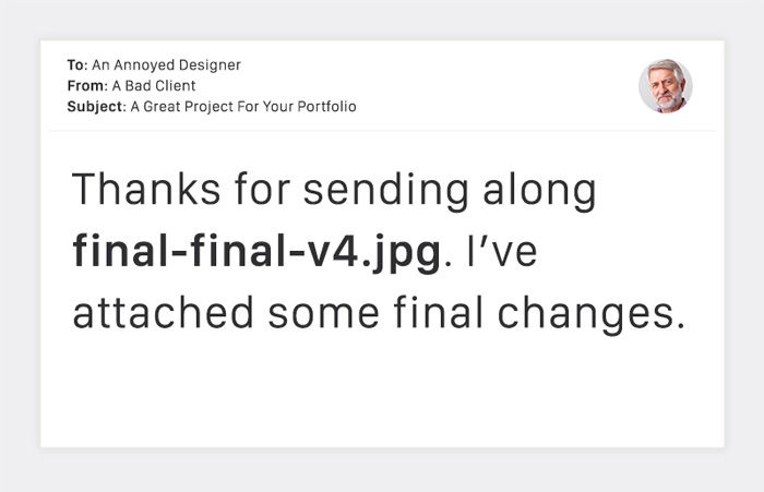 """Horrible Emails From Clients That Designers """"Love"""" To Read 