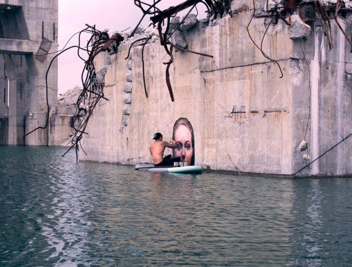 Hula ou quand le street-art et le béton flirtent avec l'eau - Beware Magazine