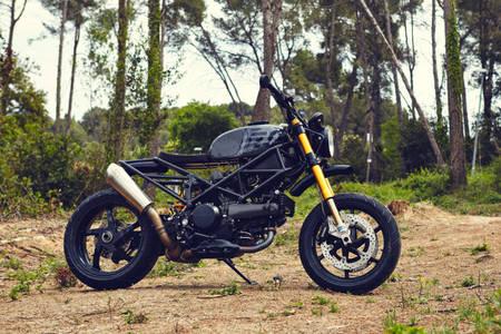 Hey Bulldog: Ad Hoc's beefy Ducati Multistrada | Bike EXIF