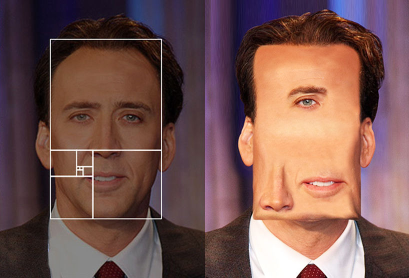 How Celebrity Faces Would Look if They Fit the Golden Ratio | WIRED