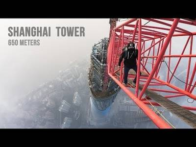 Shanghai Tower (650 meters) - YouTube