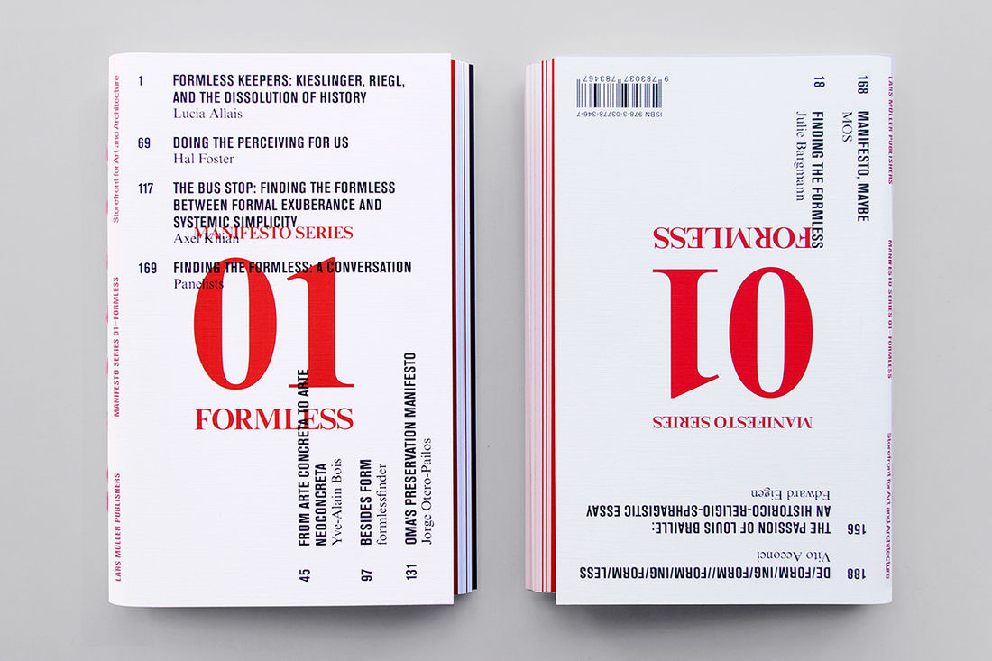 Storefront Manifesto, Book on Behance
