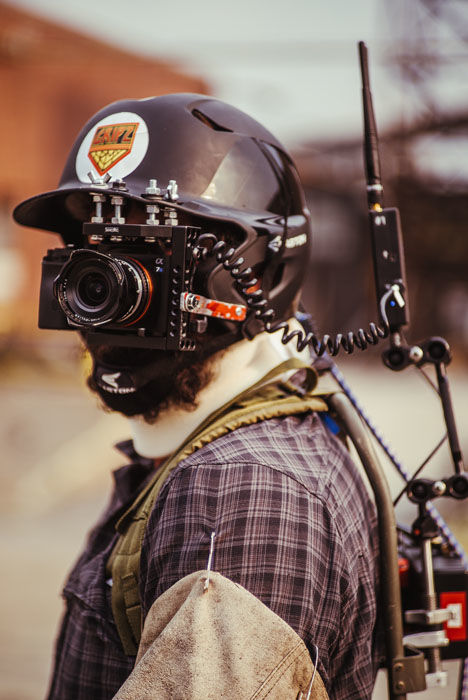 Z Nation Made This Face-Mounted Sony a7S Rig for an Interactive Zombie Game