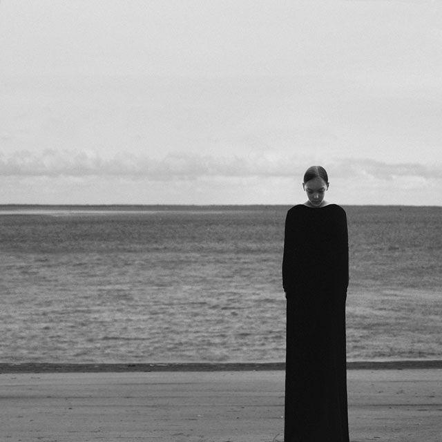 The Minimalist B&W Self-Portraits of Noell Oszvald