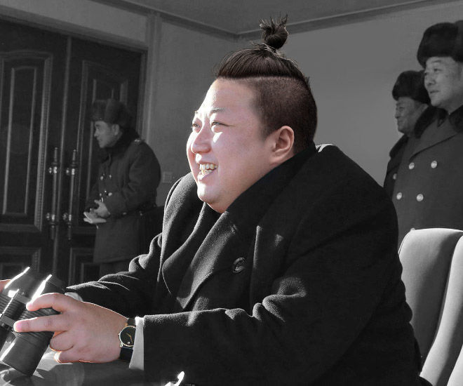 World Leaders With Man Buns