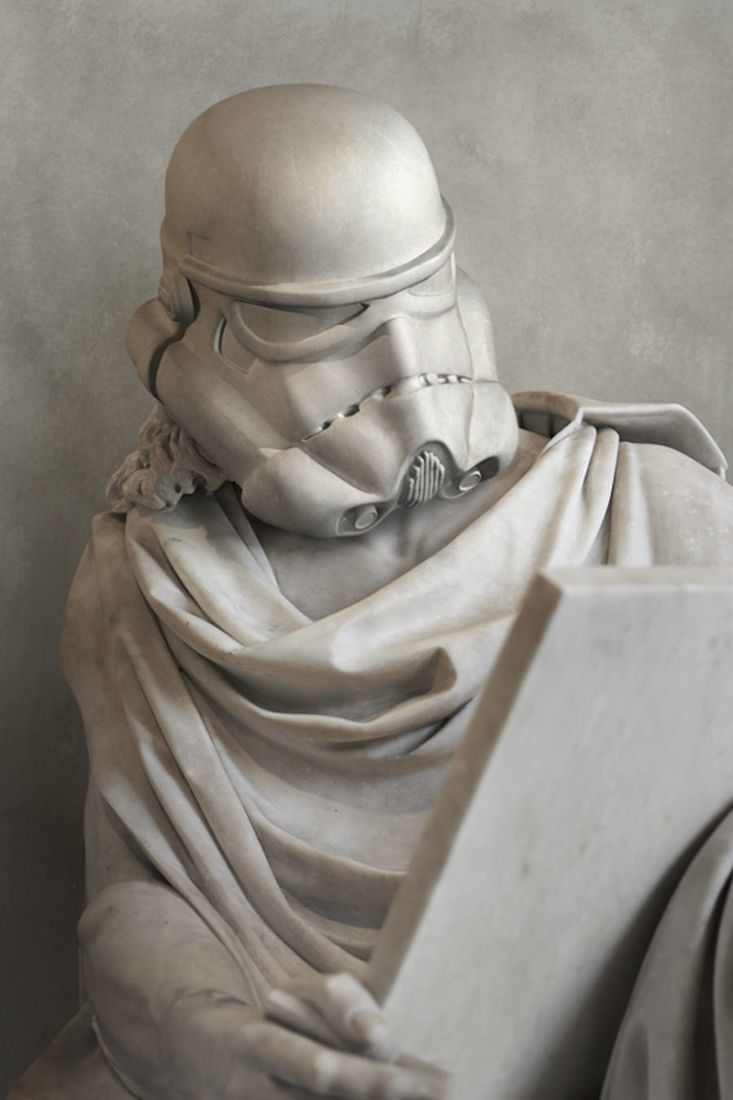 Star Wars Characters As Greek Sculptures Is The Greatest Fan Tribute