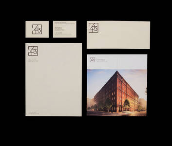 443 Greenwich, Identity system on Behance