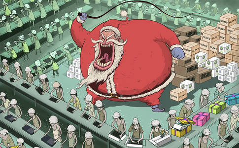 Illustration - Steve Cutts
