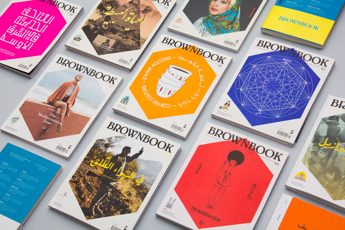 Brownbook Overview 41 — 45 on Behance