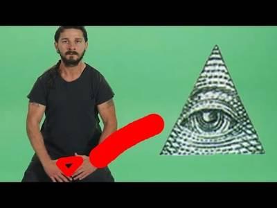 Shia LaBeouf is Illuminati - YouTube