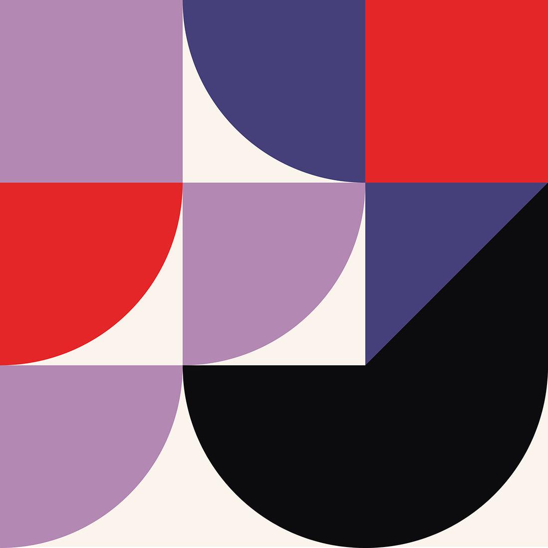 Shape Color Art / Series 2 on Behance