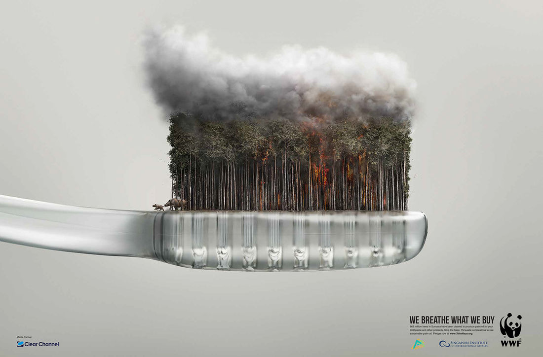WWF Haze Campaign on Behance