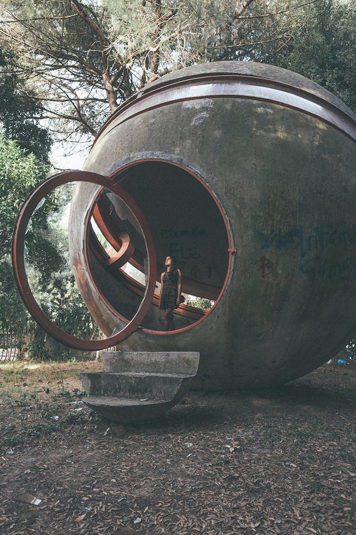 Exploring the Ruins of Rome's Casa Sperimentale – Fubiz Media