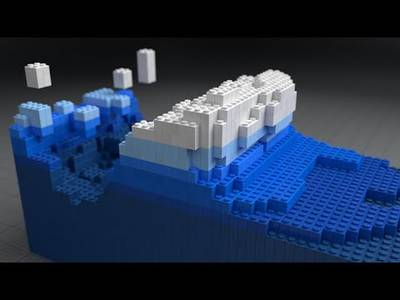 Blender 3D: Lego Fluid Effect - YouTube