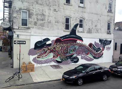 Explosive Anatomy – A look back at the latest street art creations by Nychos | Ufunk.net