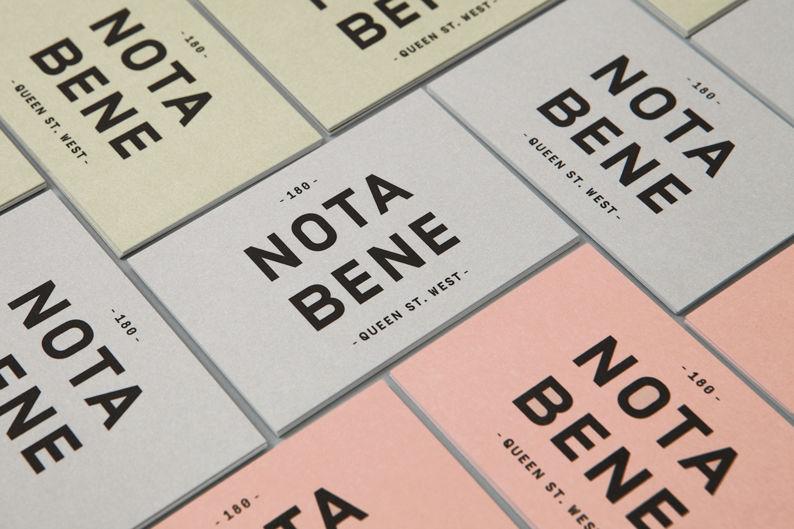 Nota Bene on Behance