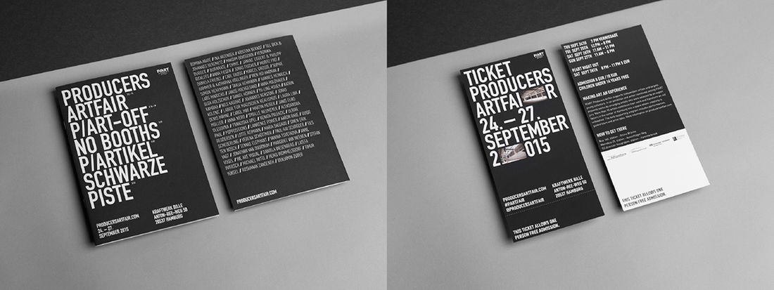 P/ART producers artfair - corporate design on Behance