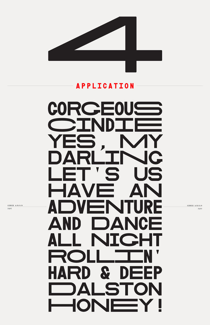 Cindie Mono | Typeface on Behance