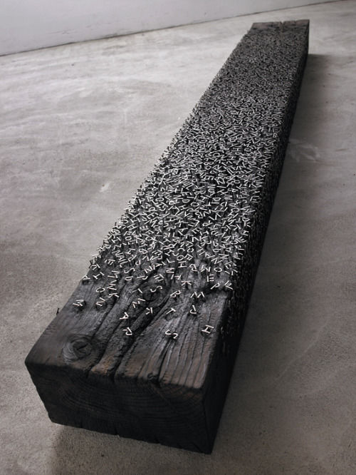 Typeverything.com  Alphabet Bench by Lee Jae-Hyo. ... -